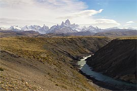 Viewpoint 6 Km. before arriving to El Chalén