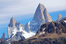 View from Route 41, 10 Km from El Chaltén