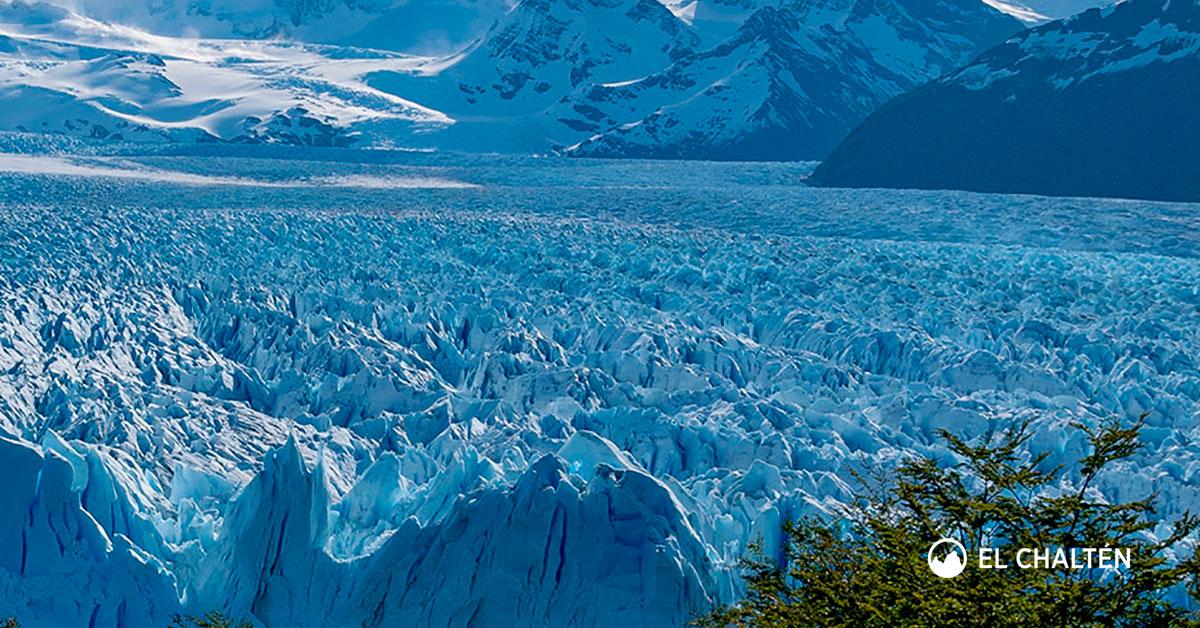 Calendario 1976 Argentina.El Parque Nacional Los Glaciares En La Patagonia Argentina